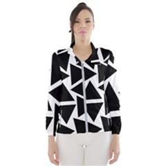 Template Black Triangle Wind Breaker (women)
