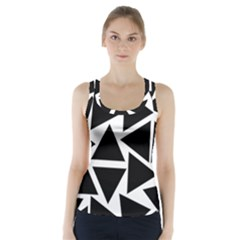 Template Black Triangle Racer Back Sports Top