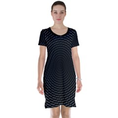 Q Tips Collage Space Short Sleeve Nightdress