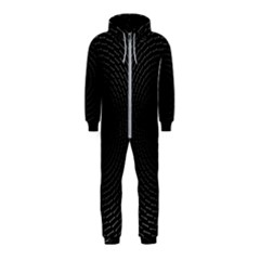 Q Tips Collage Space Hooded Jumpsuit (kids)