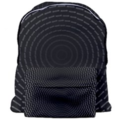 Q Tips Collage Space Giant Full Print Backpack