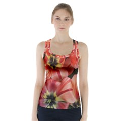 Tulips Flowers Spring Racer Back Sports Top