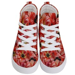 Tulips Flowers Spring Kid s Hi Top Skate Sneakers