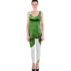 Plant Berry Leaves Green Flower Onepiece Catsuit