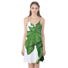 Plant Berry Leaves Green Flower Camis Nightgown