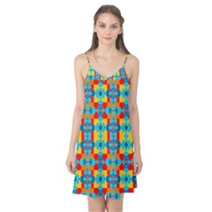 Pop Art Abstract Design Pattern Camis Nightgown