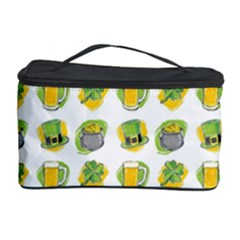 St Patrick S Day Background Symbols Cosmetic Storage Case