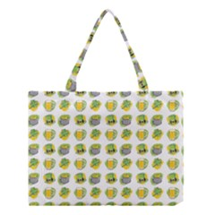 St Patrick S Day Background Symbols Medium Tote Bag