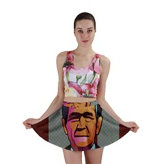 George W Bush Pop Art President Usa Mini Skirt
