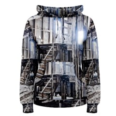 House Old Shed Decay Manufacture Women s Pullover Hoodie