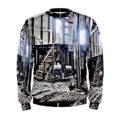 House Old Shed Decay Manufacture Men s Sweatshirt