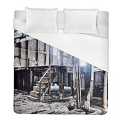 House Old Shed Decay Manufacture Duvet Cover (full/ Double Size)