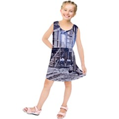House Old Shed Decay Manufacture Kids  Tunic Dress