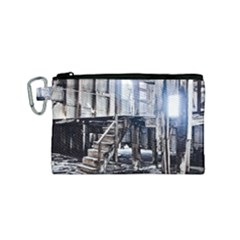House Old Shed Decay Manufacture Canvas Cosmetic Bag (small)