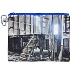 House Old Shed Decay Manufacture Canvas Cosmetic Bag (xxl)