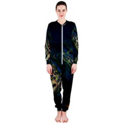 Commercial Street Night View Onepiece Jumpsuit (ladies)