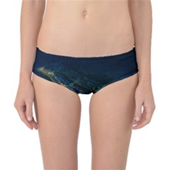 Commercial Street Night View Classic Bikini Bottoms