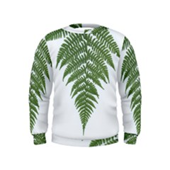Boating Nature Green Autumn Kids  Sweatshirt