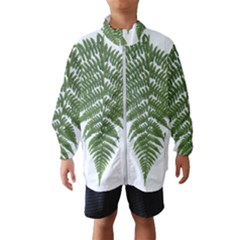Boating Nature Green Autumn Wind Breaker (kids)