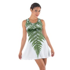 Boating Nature Green Autumn Cotton Racerback Dress