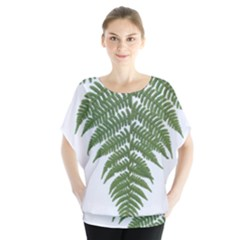 Boating Nature Green Autumn Blouse