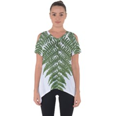 Boating Nature Green Autumn Cut Out Side Drop Tee
