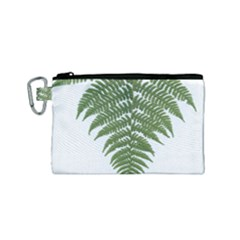 Boating Nature Green Autumn Canvas Cosmetic Bag (small)