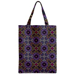 Vintage Abstract Unique Original Zipper Classic Tote Bag