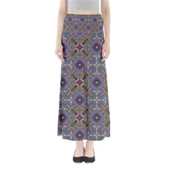 Vintage Abstract Unique Original Full Length Maxi Skirt