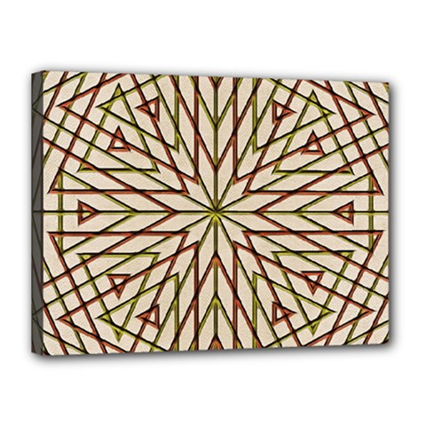 Kaleidoscope Online Triangle Canvas 16  X 12