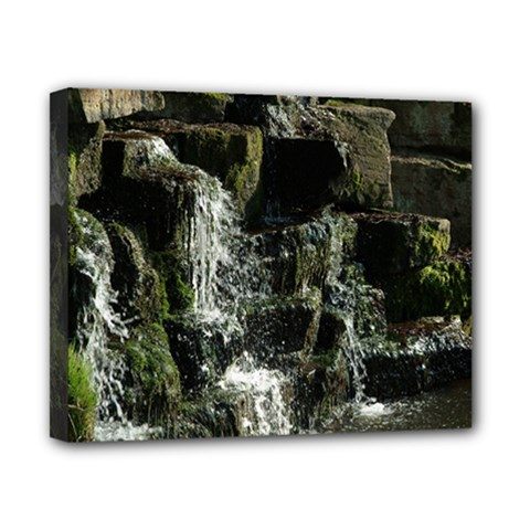 Water Waterfall Nature Splash Flow Canvas 10  X 8