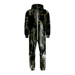 Water Waterfall Nature Splash Flow Hooded Jumpsuit (kids)