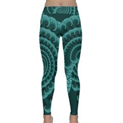 Fractals Form Pattern Abstract Classic Yoga Leggings