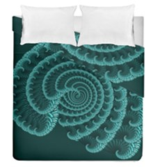 Fractals Form Pattern Abstract Duvet Cover Double Side (queen Size)