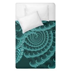 Fractals Form Pattern Abstract Duvet Cover Double Side (single Size)