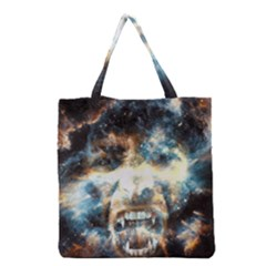 Universe Vampire Star Outer Space Grocery Tote Bag