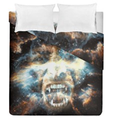 Universe Vampire Star Outer Space Duvet Cover Double Side (queen Size)