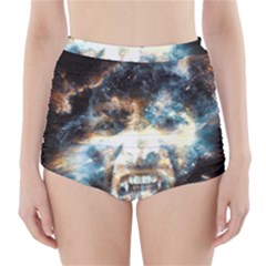 Universe Vampire Star Outer Space High Waisted Bikini Bottoms