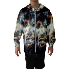 Universe Vampire Star Outer Space Hooded Wind Breaker (kids)