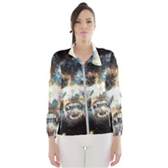 Universe Vampire Star Outer Space Wind Breaker (women)