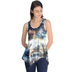 Universe Vampire Star Outer Space Sleeveless Tunic