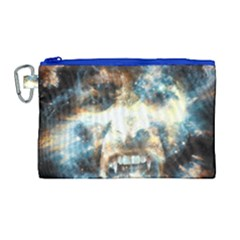 Universe Vampire Star Outer Space Canvas Cosmetic Bag (large)