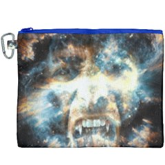 Universe Vampire Star Outer Space Canvas Cosmetic Bag (xxxl)
