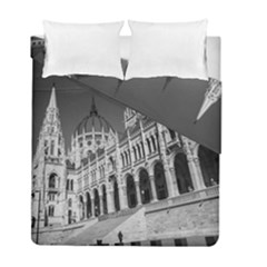 Architecture Parliament Landmark Duvet Cover Double Side (full/ Double Size)