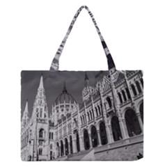 Architecture Parliament Landmark Zipper Medium Tote Bag