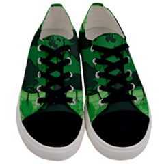 Earth Forest Forestry Lush Green Men s Low Top Canvas Sneakers