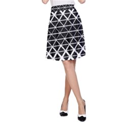 Triangle Pattern Background A Line Skirt