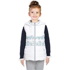 Verified Belieber Kid s Puffer Vest