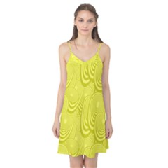 Yellow Oval Ellipse Egg Elliptical Camis Nightgown