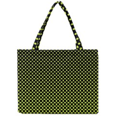 Pattern Halftone Background Dot Mini Tote Bag